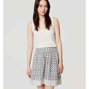 Loft Jardin Stroll Skirt
